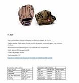 SL-120 gant de baseball cuir infield/outfield 12, marron