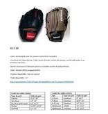 """GL-110 gant de baseball en cuir, 11 """"(pouces), Infield, noir"""
