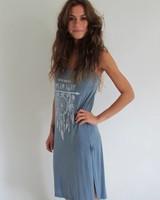 Ibiza dress blue (one size)