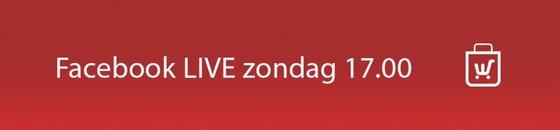 Facebook LIVE zon: 17.00
