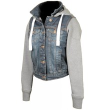 Booster Hoodie Denim Kevlar Ladies
