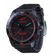 Alpinestars TECH WATCH 3H BLACK-BLACK NYLON STRAP