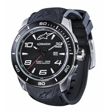 Alpinestars TECH WATCH CHRONO BLACK LEATHER STRAP