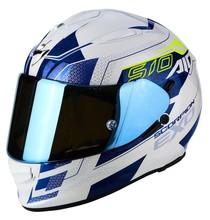 Scorpion EXO-510 AIR GALVA White Blue