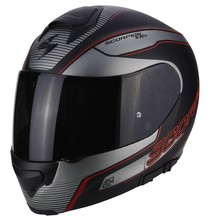 Scorpion EXO-3000 AIR STROLL Black Silver Red
