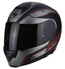 Scorpion EXO-3000 AIR STROLL Black Silver Red
