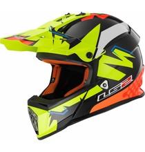 LS2 LS2 MX437 Fast Volt gloss blac