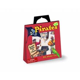 Peaceable Kingdom Stickertasje Piraten