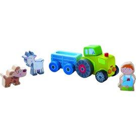 Haba Haba houten speelwereld 'Peter's tractor'