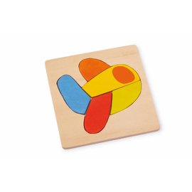 Small Foot Houten puzzel Transportmiddelen set van 4