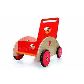 Scratch Loopwagen Racende Vliegen