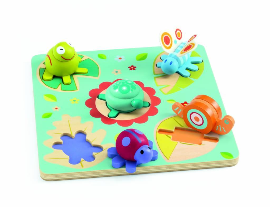 puzzel met geluid baby