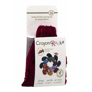 Crayon Rocks Crayon Rocks (16) in een rood fluwelen zakje