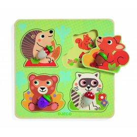 Djeco Djeco puzzel Croc-nut