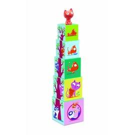 Djeco Djeco stapelblokken 'Catibloc'