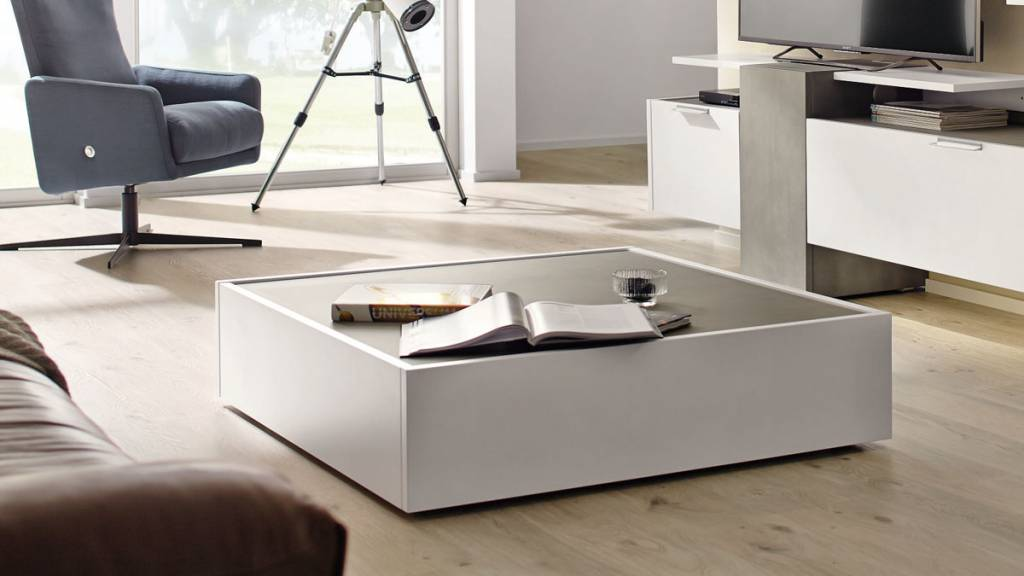 h lsta couchtisch ct 180 fena in lack reinweiss. Black Bedroom Furniture Sets. Home Design Ideas