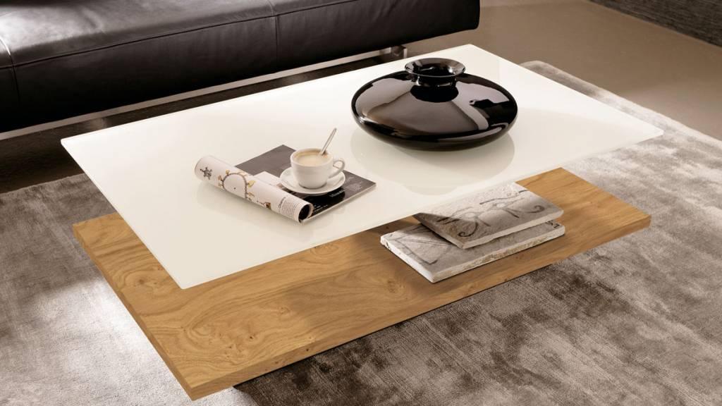 h lsta couchtisch ct110 in glas natureiche. Black Bedroom Furniture Sets. Home Design Ideas