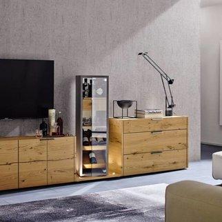 h lsta fena wohnwand vorzugskombination. Black Bedroom Furniture Sets. Home Design Ideas