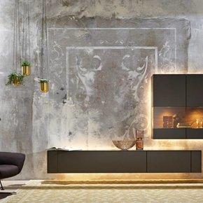 wohnzimmer von premium herstellern wie h lsta rolf benz. Black Bedroom Furniture Sets. Home Design Ideas
