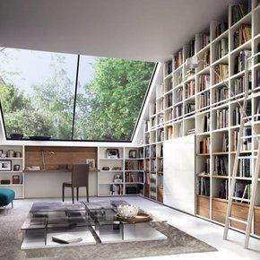 individuell gestaltbare regale in unterschiedlichsten dimensionen und oberfl chen. Black Bedroom Furniture Sets. Home Design Ideas