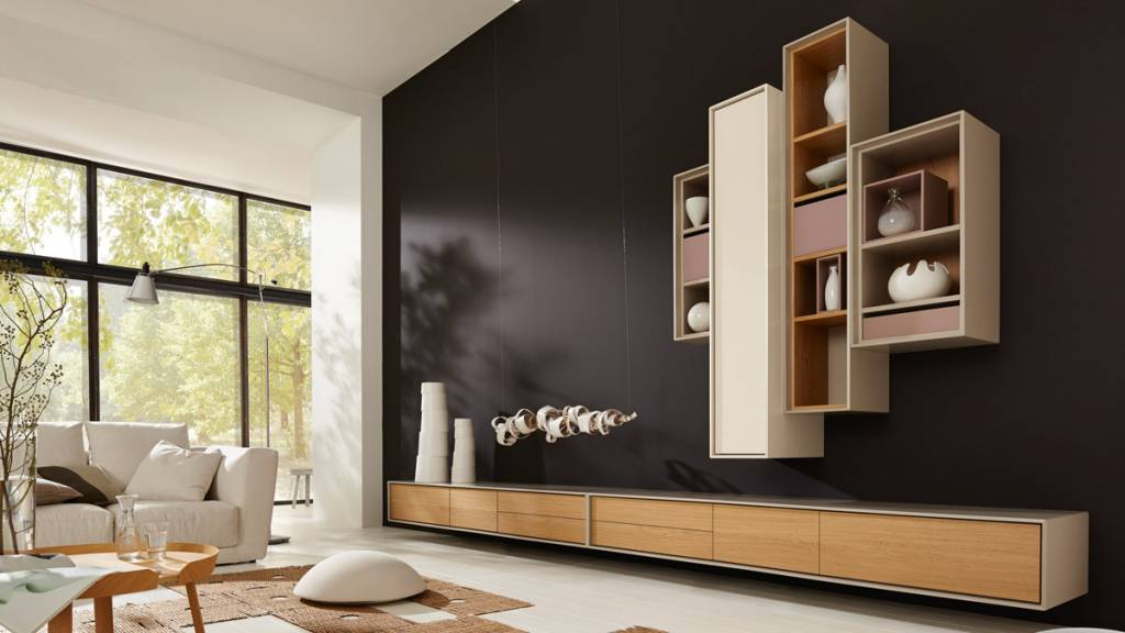 h lsta scopia wohnwand. Black Bedroom Furniture Sets. Home Design Ideas