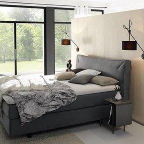 boxspring betten und matratzen von verschiedenen premium markenherstellern. Black Bedroom Furniture Sets. Home Design Ideas