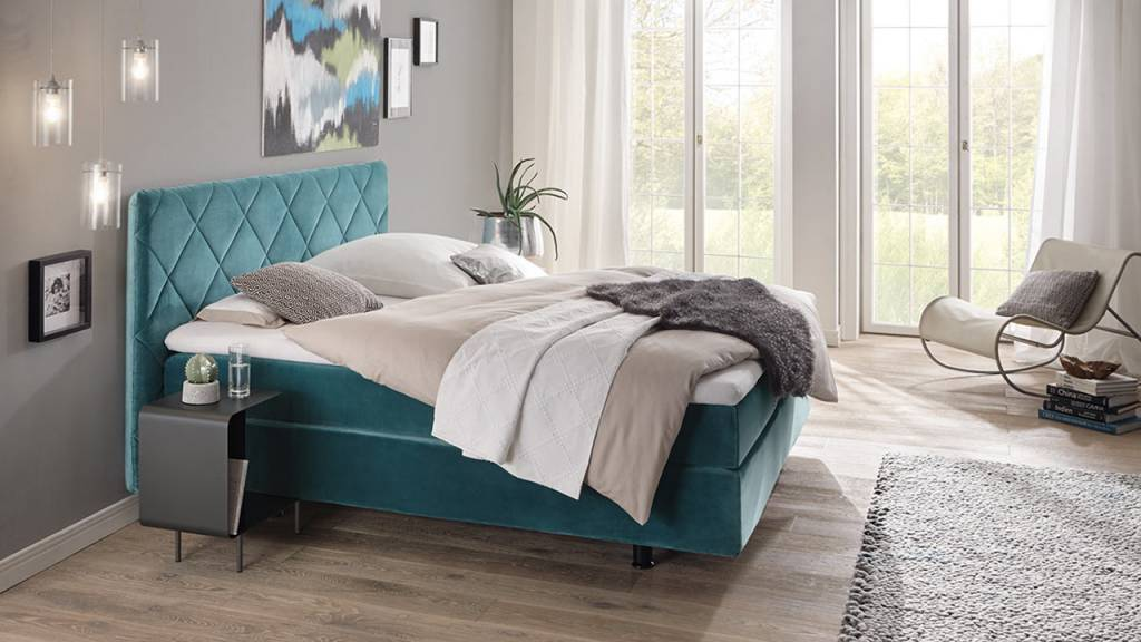 h lsta boxspring bs110 h lsta boxspring bett jetzt zum vorzugspreis mit bestpreis garantie. Black Bedroom Furniture Sets. Home Design Ideas