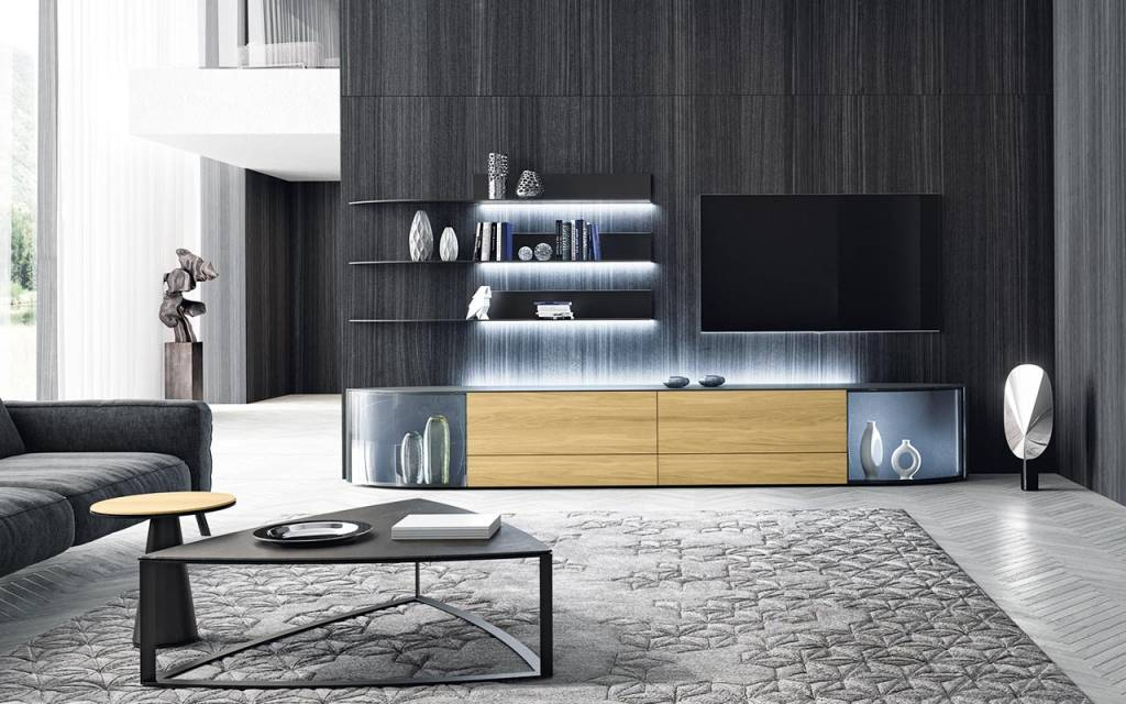 h lsta navis lowboard mit navis steht ein kraftvolles statement zu anspruch und stil im raum. Black Bedroom Furniture Sets. Home Design Ideas