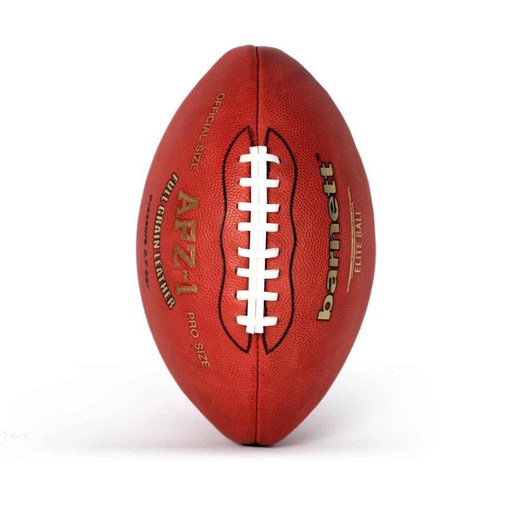 barnett AFZ-1 Míč na americký fotbal Elite, pravá kůže, hnědý
