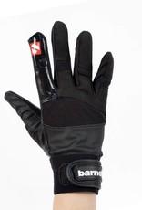 barnett FRG-01 Rukavice na americký fotbal, receiver, s gripem, černá