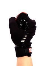 barnett FKG-02 Rukavice na americký fotbal, nová gerace, linebacker, LB,RB,TE, černá
