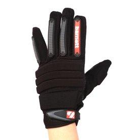 barnett FLG-02 Rukavice na americký fotbal, nová generace, lineman, OL,DL, černá