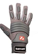 barnett FLG-03 Výjimečné rukavice na americký fotbal, linemen, OL,DL, šedá