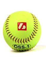"""barnett OSS-1 Tréninkový softbalový míč, velikost 12"""", žlutá, 2 ks"""
