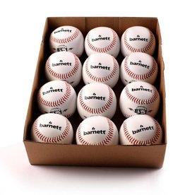 """barnett BS-1 Tréninkový baseballový míč pro začátečníky, velikost 9"""", bílá, 12 ks"""