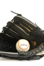 """barnett JL-120 Baseballová rukavice pro začátečníky z vinylu, outfield, vel. 12"""", černá"""
