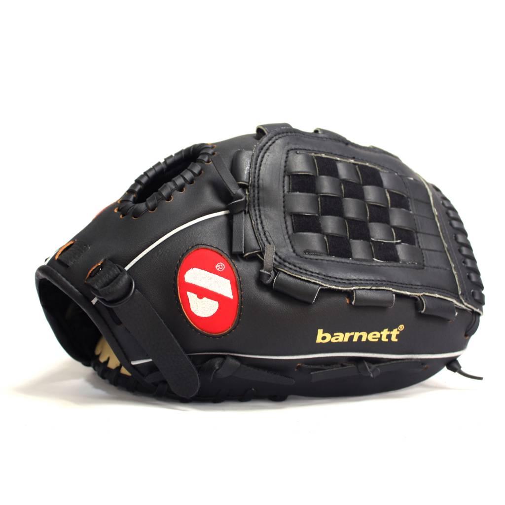 barnett BGBW-1 Baseballová sada pro začátečníky, senior – míč, rukavice, dřevěná pálka (BB-W 32, JL-120, BS-1)
