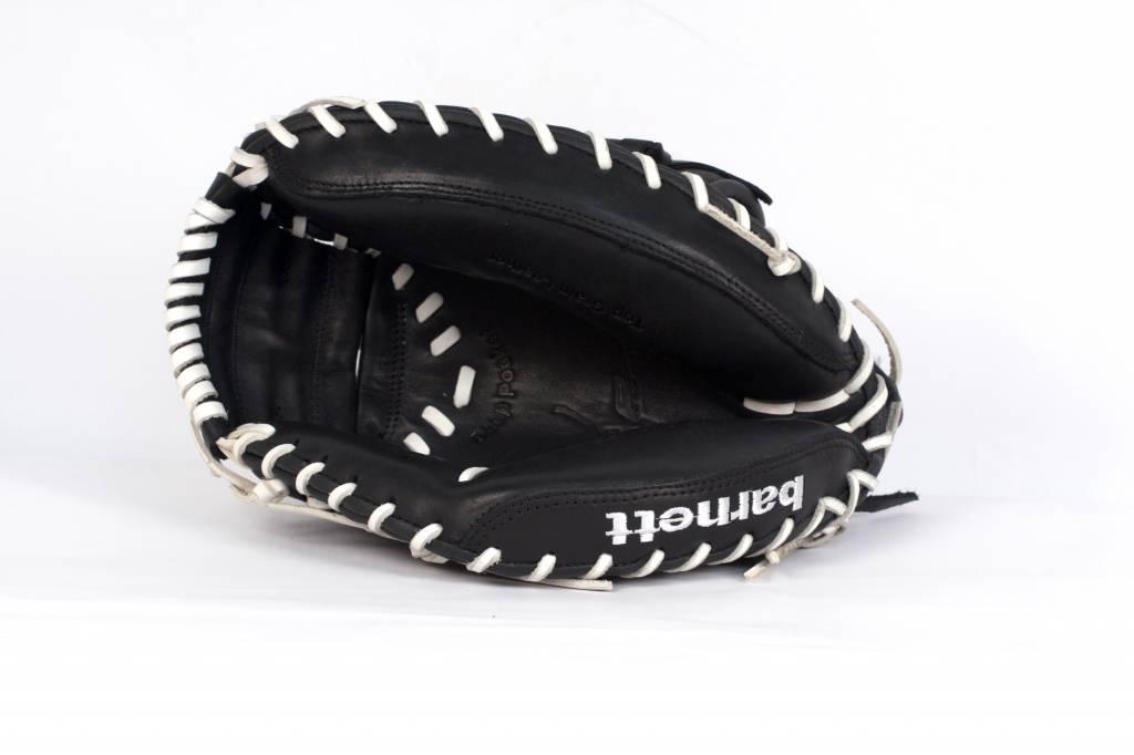 barnett GL-201 Soutěžní kožená baseballová rukavice, catcher, dospělý 31'', černá