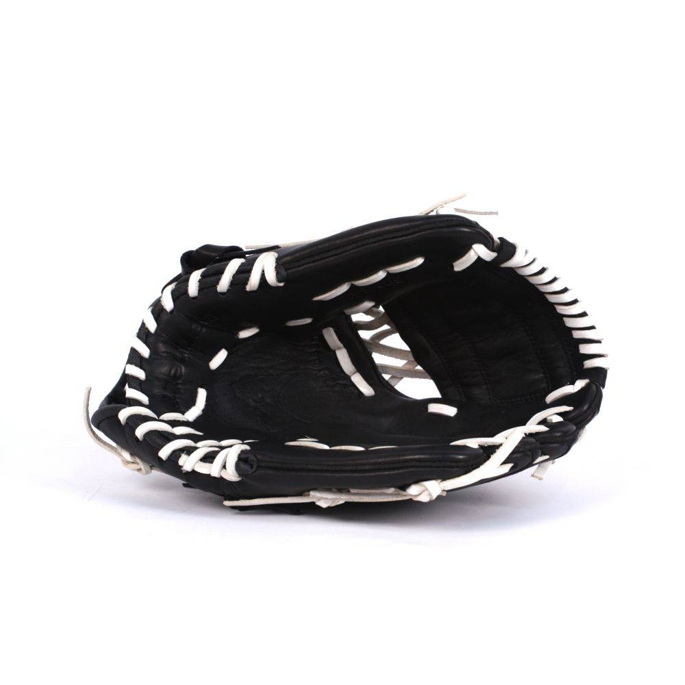 barnett GL-125 Soutěžní kožená baseballová rukavice, outfield 12.5'', černá