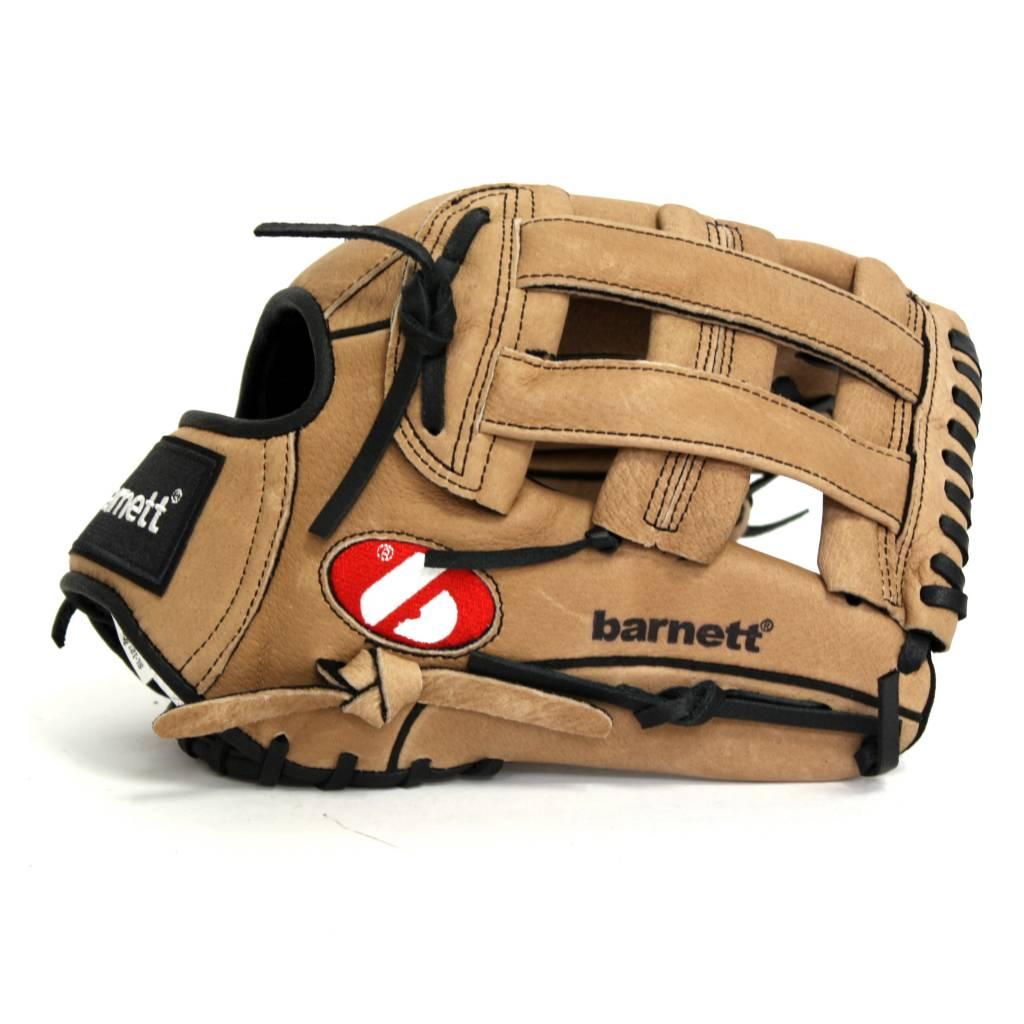 barnett SL-127 Kožená baseballová rukavice, outfield 12.7'', hnědá