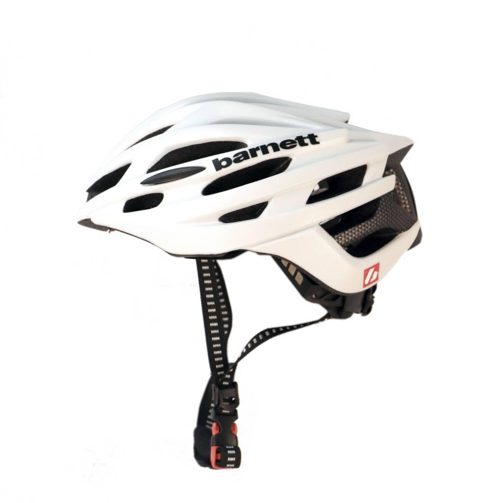 barnett B3-27A Helma pro cyklistiku a kolečkové lyže, bílá