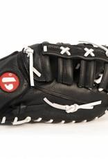 """barnett GL-301 Soutěžní kožená baseballová rukavice, first base 31"""", černá"""