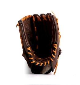 """barnett GL-120 Soutěžní kožená baseballová rukavice, outfield 12"""", hnědá"""