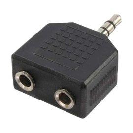 Logilink Adapter 3,5 mini jack 1x --> 2x