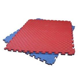 4 Cm Puzzelmatten Rood Blauw streepmotief
