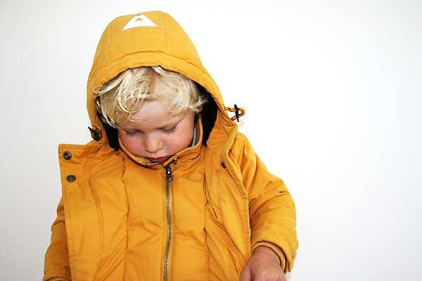 Parka Jacket Storm Yellow
