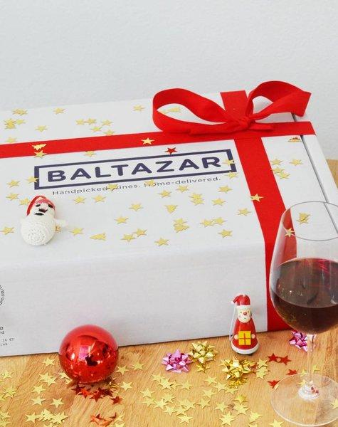 Kerst wijnbox