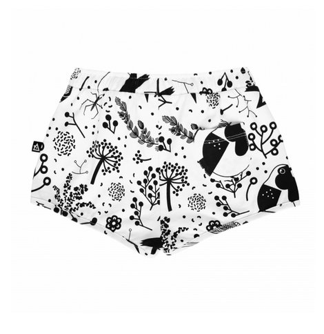 Wislaki Korte broek - Zwart Wit