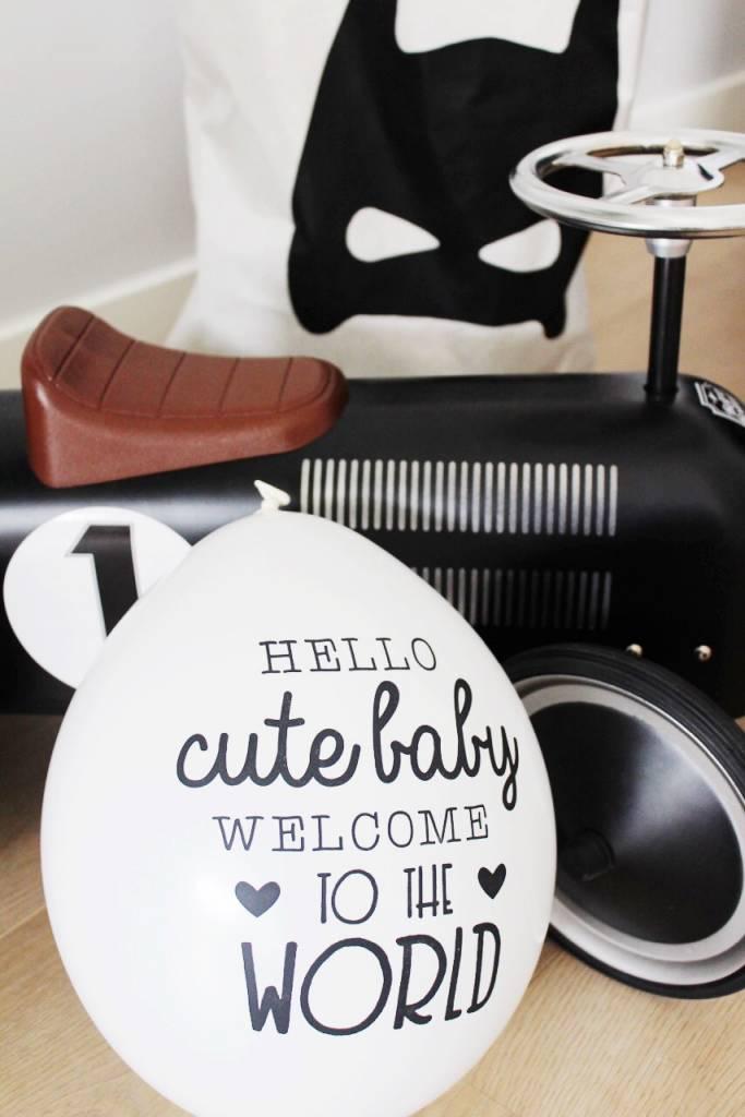 MamaKaart Babyshower versiering - Baby Ballon