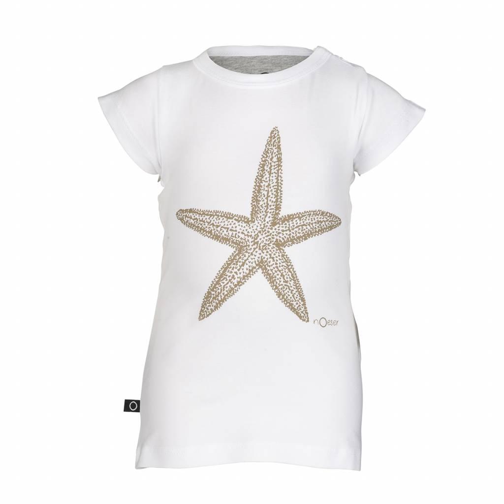 nOeser nOeser T-shirt Ted - Zeester White